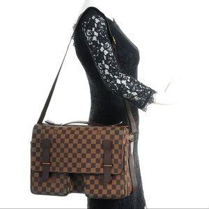 Authentic Louis Vuitton Broadway Damier Ebene Bag